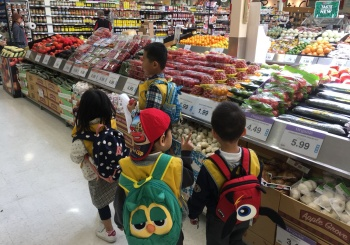 Nutrition Tour at the Grocer!